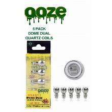 OOZE Dome Dual Quartz Coils