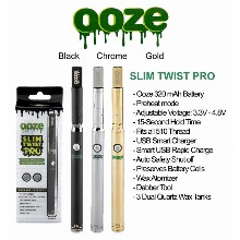 OOZE Slim Twist Pro 320mah Battery 3.3v 4.8v