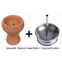 Terracotta Tobacco Head Bowl Charcoal Holder
