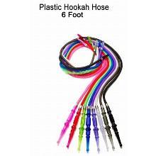 6 Foot Plastic Hookah Hose