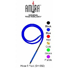 6 Foot Amira Magna Technology Hookah Hose