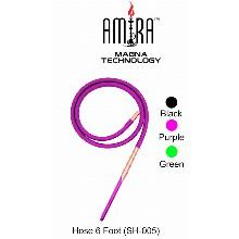 6 Foot Purple Amira Magna Technology Hookah Hose