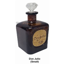 Square Don Julio Water Pipe