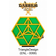Dabber Box Station Triangledesign With Led Light 7740 1