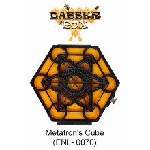 Dabber Box Station Metatron Inchs Cube Design With Led Light
