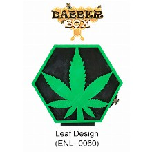 Dabber Box Station Leaf Design With Led Light