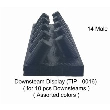 Downstem Display 14 Male For 10 Pcs