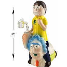 8 Inch Rick And Morty Dab Rig