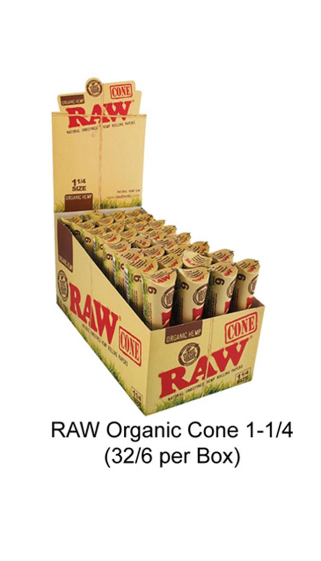 Raw Organic Cone 1 1 & 4