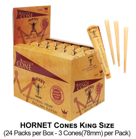 Hornet Cones King Size