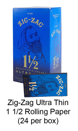 Zig Zag Ultra Thin 1 1 & 2 Rolling Paper