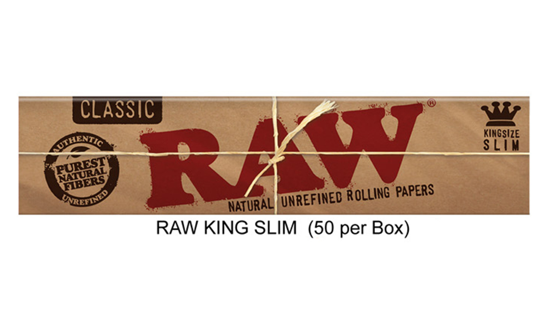 Raw King Slim Paper