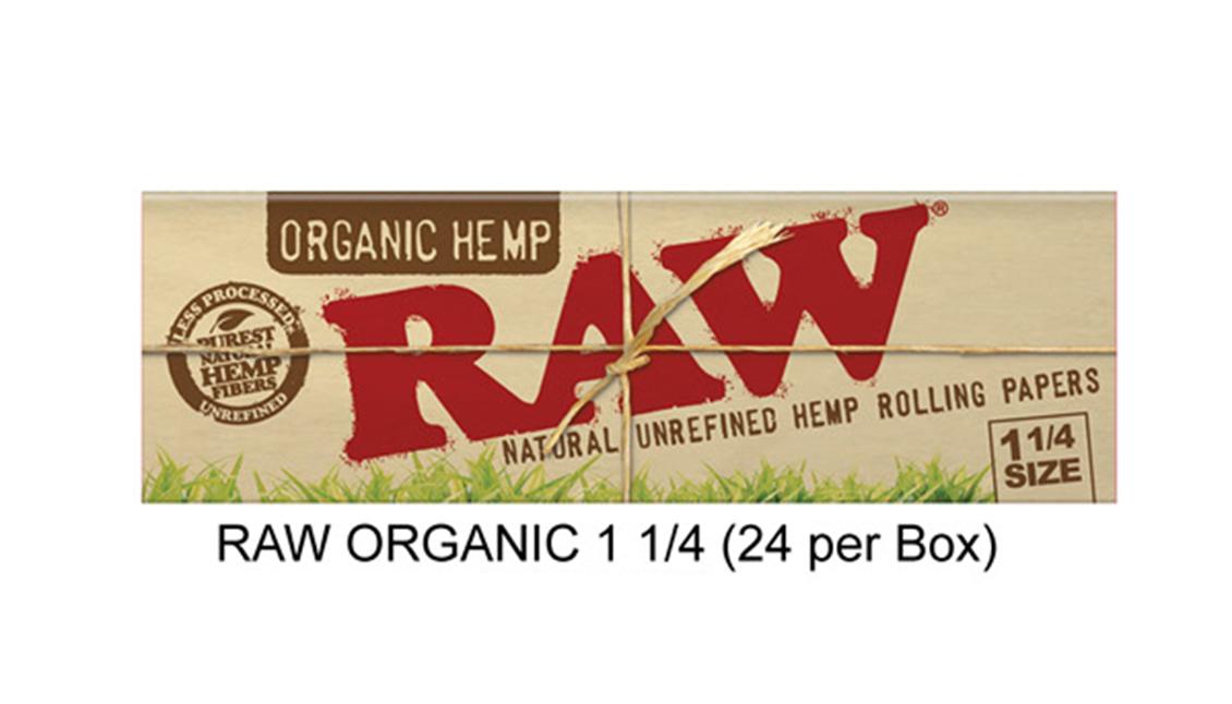 Raw Organic 1 1 & 4 Paper