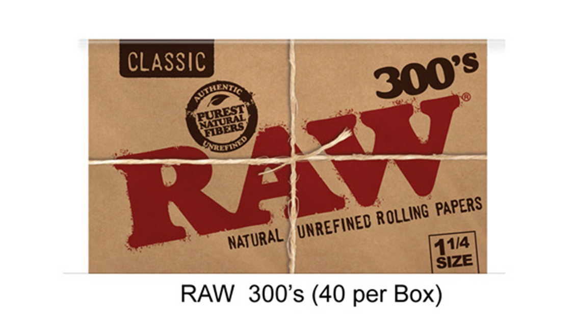 Raw 300 Inchs Paper