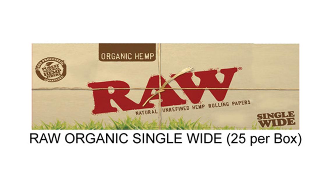 Raw Organic Single Wide Paper