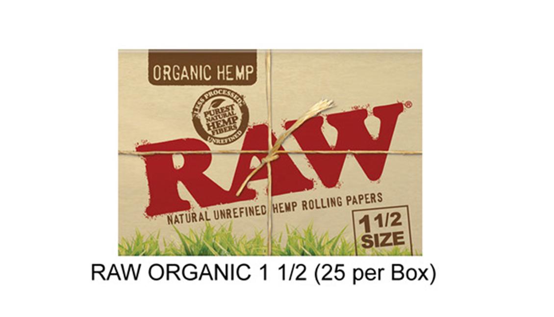 Raw Organic 1 1 & 2 Paper