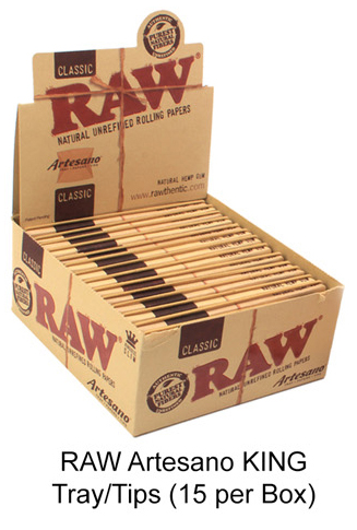 Raw Artesano King Tray & tips