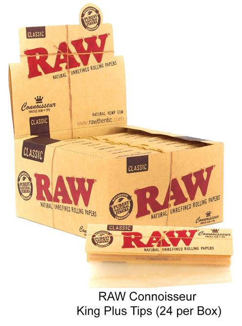 Raw Connoisseur King Plus Tips