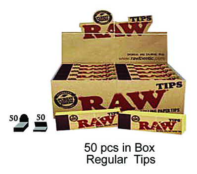 Raw Regular Tips