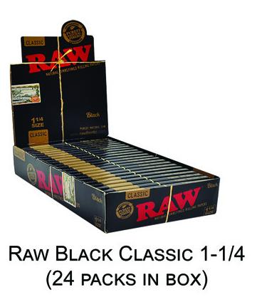 Raw Black Classic 1 1 & 4