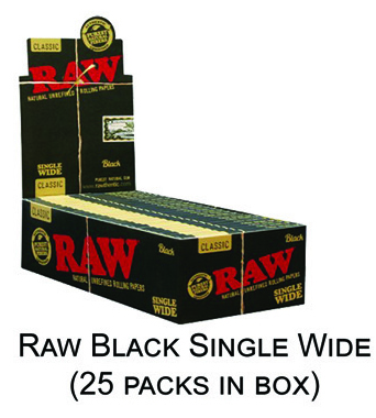 Raw Black Single Wide