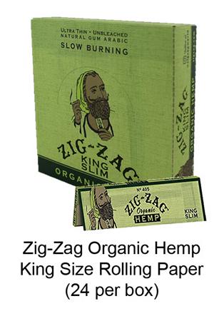 Zig Zag Organic Hemp King Size Rolling Paper