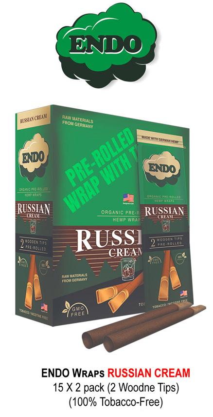 Endo Wraps Russian Cream