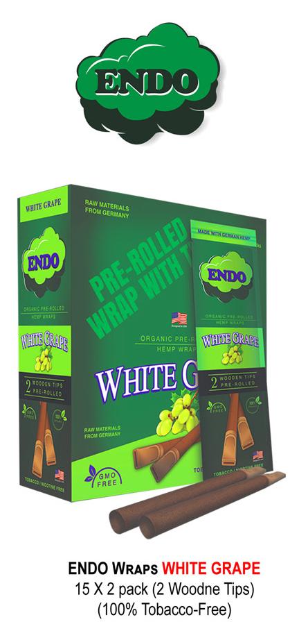 Endo Wraps White Grape