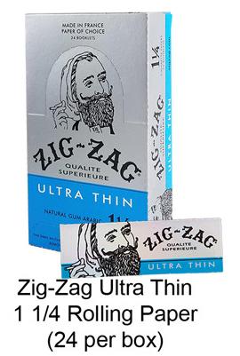 Zig Zag Ultra Thin 1 1 & 4 Rolling Paper