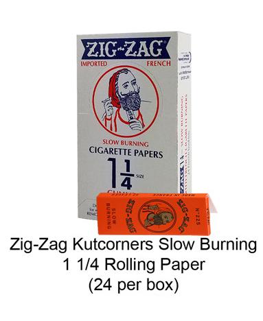 Zig Zag Kutcorners Slow Burning