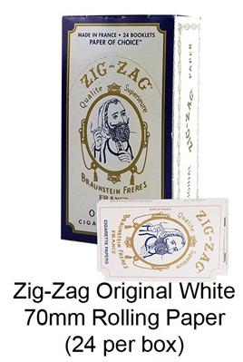 Zag zag Original White 70mm Rolling Paper