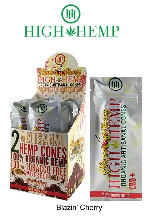 High Hemp Blazin Inch Cherry CBD