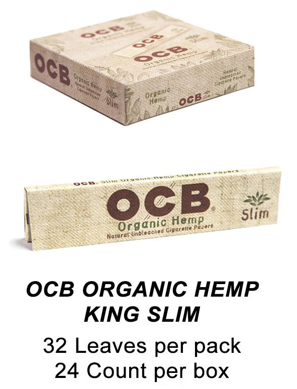 OCB Organic Hemp King Slim