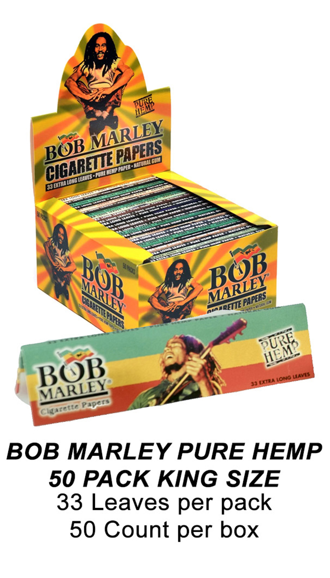 Bob Marley Pure Hemp 50 Pack King Size