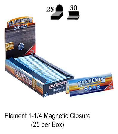 Element 1 1 & 4 Magnetic Closure