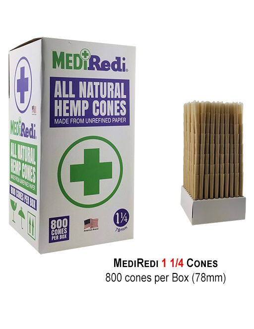 Mediredi 1 1 & 4 Cones