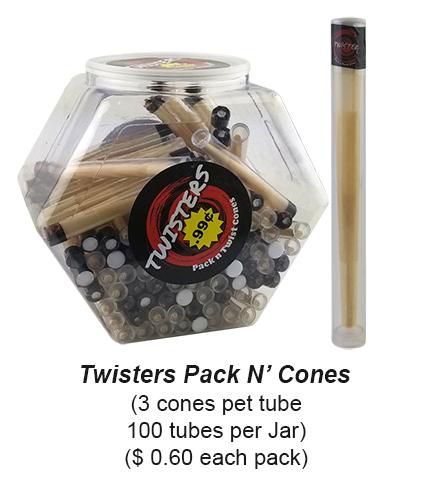 Twisters Pack N Inch Cones