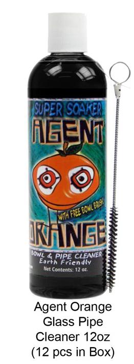 Agent Orange Glass Pipe Cleaner 12oz