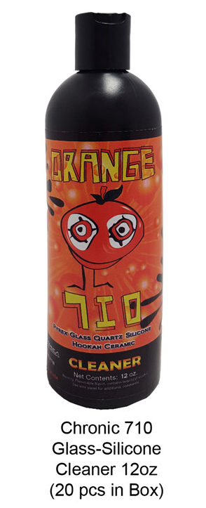 Chronic 710 Glass silicone Cleaner 12oz