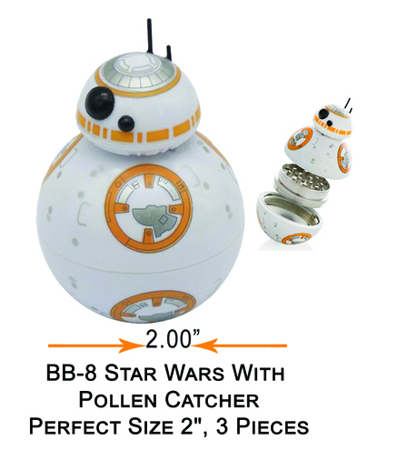 2 Inch Bb 8 Star Wars Grinder