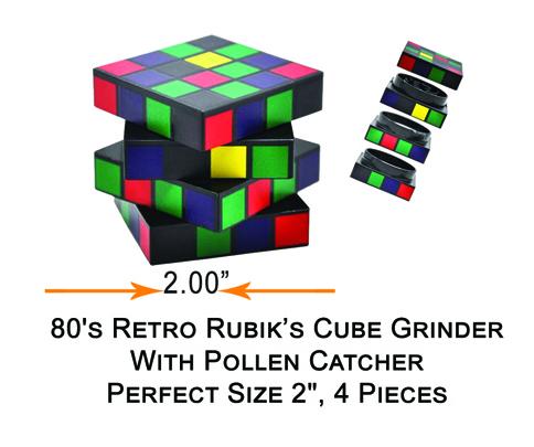 2 Inch Rubik Inchs Cube Grinder