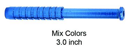3 Inch Blue Spiral Hand Pipe