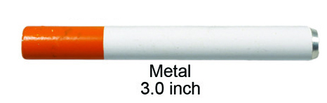 3 Inch Metal Cigarette One Hitter