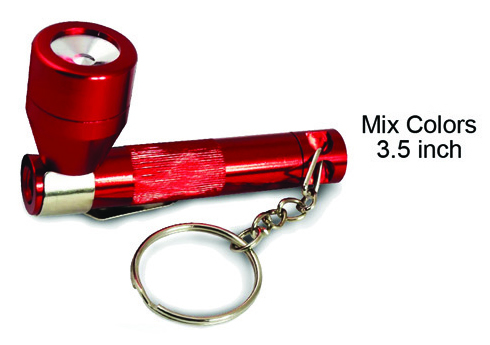 3.5 Inch Stealth Metal Flashlight Pipe