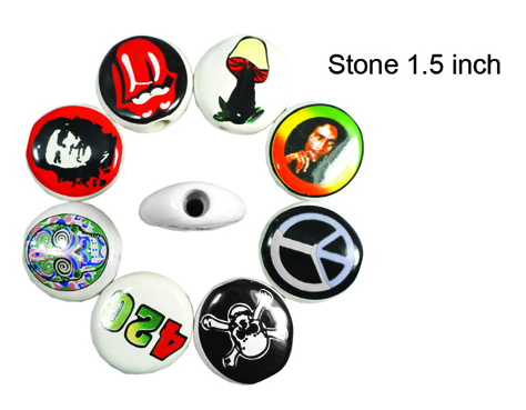 1.5 Inch Stone Hand Pipe