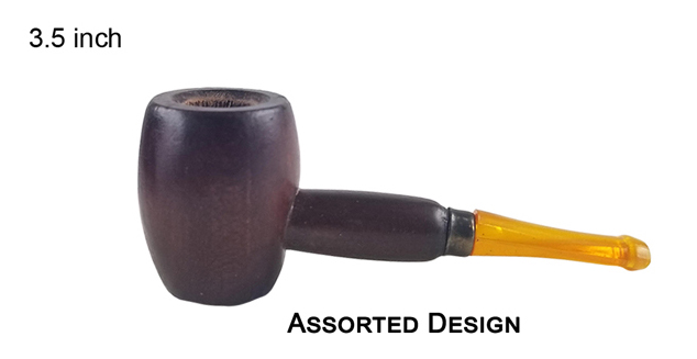 3.5 Inch Wooden Tobacco Pipe