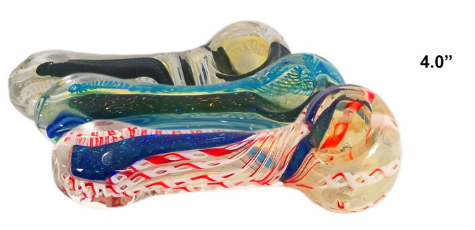 4 Inch Glass Hand Pipe
