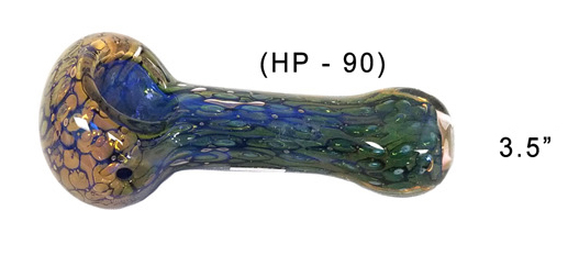 3.5 Inch Glass Hand Pipe 4818