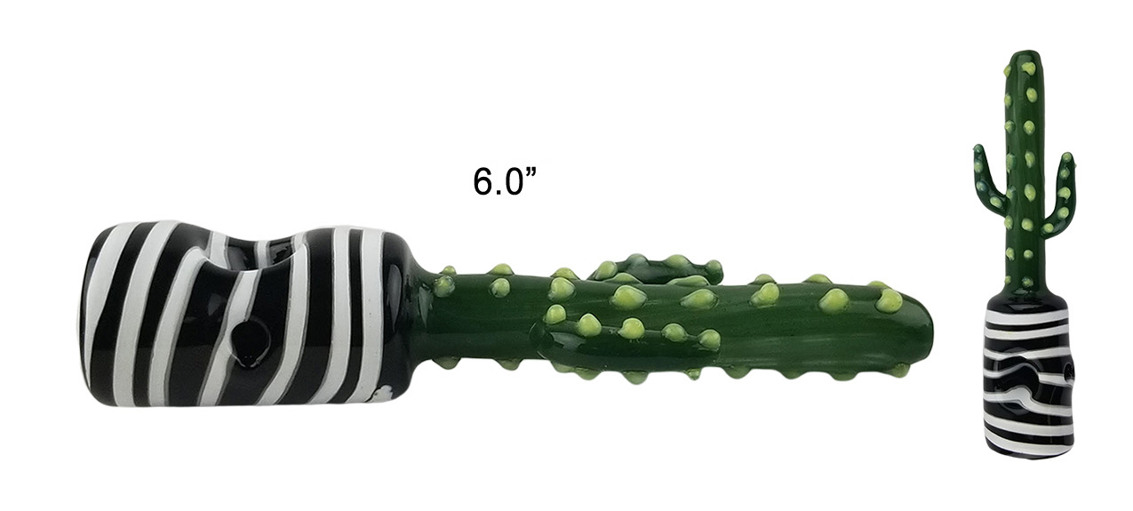 6.0 Inch Cactus Hand Pipe