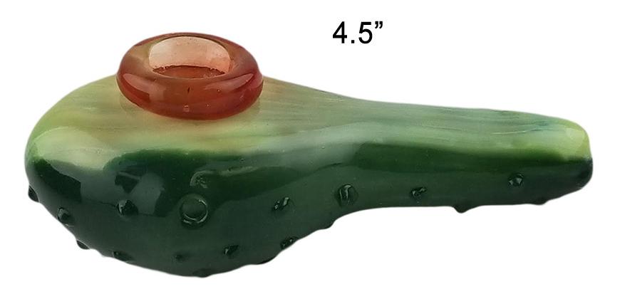 4.5 Inch Fish Glass Hand Pipe